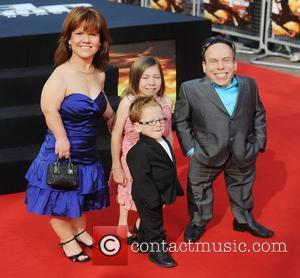 Warwick Davis, Johnny English and Empire Leicester Square