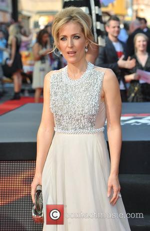 Gillian Anderson and Empire Leicester Square