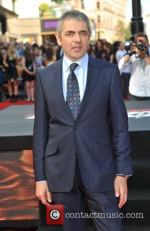 Rowan Atkinson Johnny English - UK film premiere held at the Empire Leicester Square - Arrivals. London, England - 02.10.11