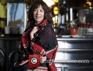 Actress Sophie Marceau  at Hotel Concorde La Fayette in Paris for Cinemoi TV, to be interviewed by Jonathan Ross,...