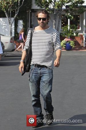 Jordi Molla leaving Fred Segal after having lunch with a friend Los Angeles, California - 21.09.11