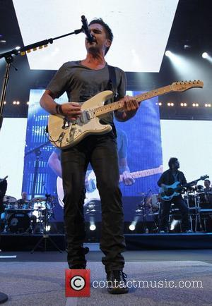 Singer Juanes performing on tour with his fifth studio album P.A.R.C.E. at Madison Square Garden New York City, USA -...