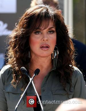 Marie Osmond Jubilee! Showgirls march up Las Vegas Strip in a sign of solidarity with the American Consumer  Las...