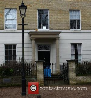 Images of Jude Law and Sienna Miller's new home in Highgate, North London. London, England - 24.01.11