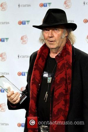 Neil Young JUNO Gala Dinner and Awards Show - Press Room Toronto, Canada - 26.03.11