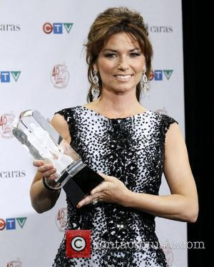 Shania Twain  The 2011 JUNO Awards - Press Room Toronto, Canada - 27.03.11