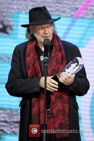 Neil Young  2011 JUNO Awards held at the Air Canada Centre - Show Toronto, Canada - 27.03.11