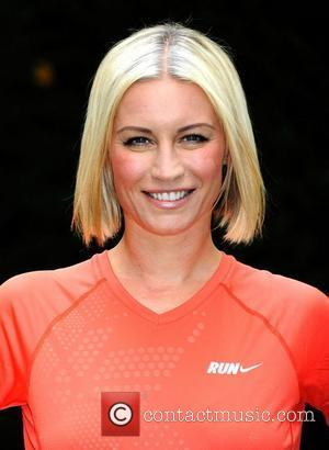 Denise van Outen Celebrities reveal their Vodafone JustTextGiving Charity Challenges at The Hemple Hotel, London, England - 05.09.11
