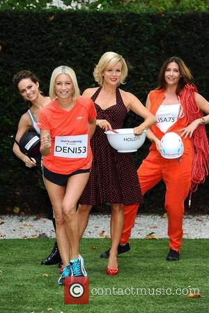 Kara Tointon, Amanda Holden, Denise Van Outen and LISA SNOWDON