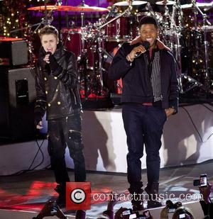Justin Bieber and Usher