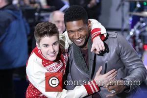 Justin Bieber and Usher Raymond