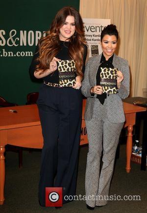 Khloe Kardashian and Kourtney Kardashian