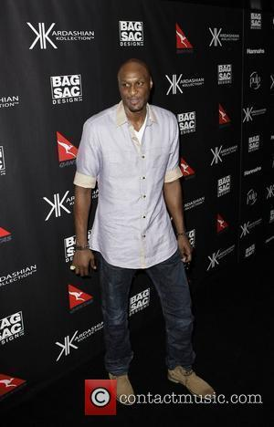 Lamar Odom The launch of Kardashian Kollection handbags at Hugo's Lounge - Arrivals Sydney, Australia - 02.11.11