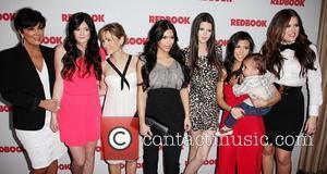 Kris Jenner, Khloe Kardashian, Kim Kardashian, Kourtney Kardashian and Kylie Jenner