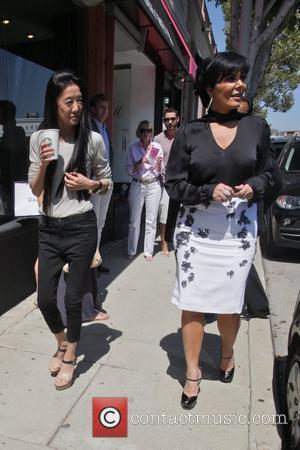 Vera Wang and Kris Jenner