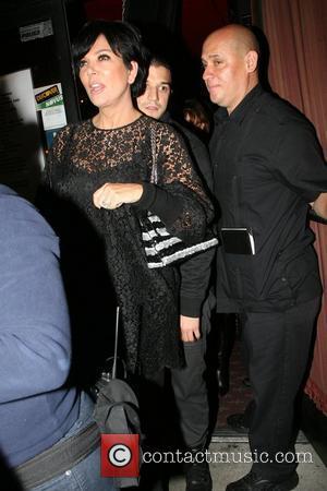 Kris Jenner and Mark Ballas