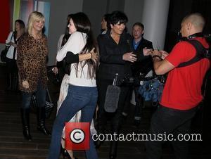 Kourtney Kardashian, Kris Jenner and Kylie Jenner