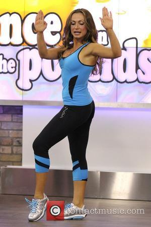 Karina Smirnoff  appearing on CTV's The Marilyn Denis Show and promoting her latest fitness DVD 'Shape Up with Karina...