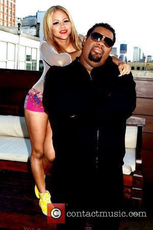 Kat Deluna and Fat Man Scoop    Kat DeLuna 'Drop It Low' video shoot at the Chelsea Piers...