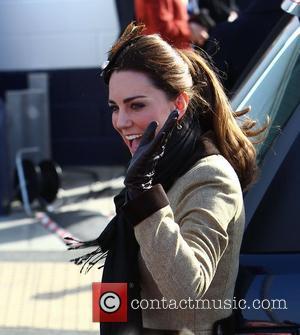 Kate Middleton Heads Back To St Andrews University