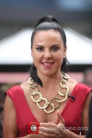 Kate del Castillo at The Grove to appear on the entertainment television news programme 'Extra' Los Angeles, California