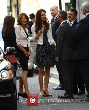 Pippa Middleton and Kate Middleton