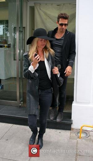 Newlyweds, Jamie Hince and Kate Moss