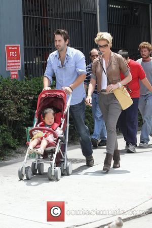 Katherine Heigl and husband singer Josh Kelley shopping at the farmer's market in Hollywood Los Angeles, California - 08.05.11