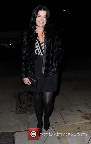 Alison King Katherine Kelly's 'Coronation Street' leaving party at Place Manchester Manchester, England - 19.11.11