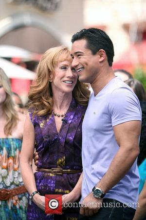 Kathy Griffin and Mario Lopez