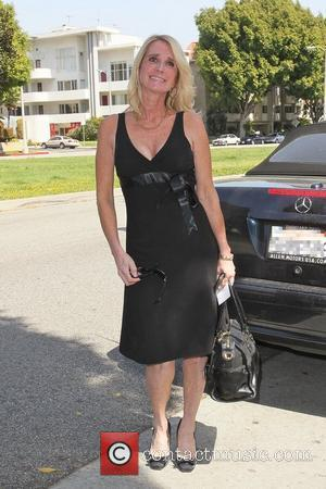 Kim Richards arrives at the birthday party of Kathy Hilton at Il Cielo in Beverly Hills Los Angeles, California -...