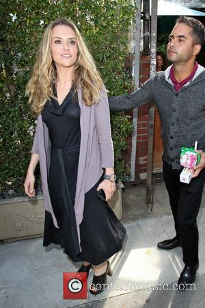 Brooke Mueller Celebrities depart Il Cielo in Beverly Hills after attending the birthday party of Kathy Hilton Los Angeles, California...