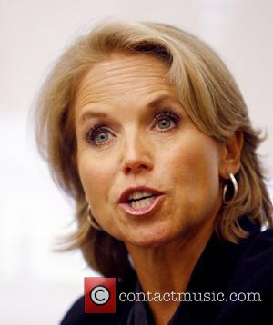 Katie Couric anchor of CBS Evening News, participates in a forum on issues in Journalism, held at Tufts University Medford,...