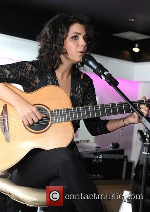 Katie Melua  performing live at the Bond Club London, England - 27.01.11