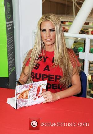 Katie Price and Santa Baby