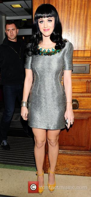 Katy Perry and Chris Moyles