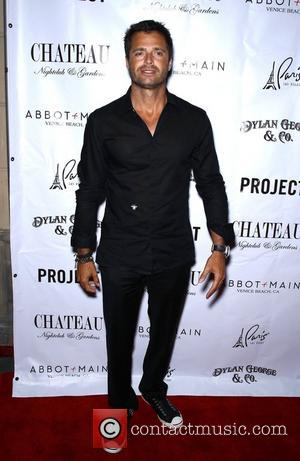 David Charvet Dylan George and Abbo+Main Spring 2012 collections launch at Chateau Nightclub inside Paris hotel and casino Las Vegas,...