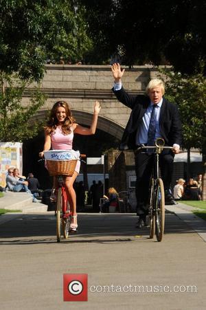 Boris Johnson and Kelly Brook