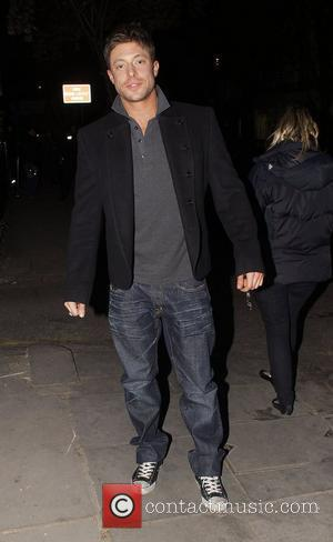 Duncan James celebrities leaving an after party for the launch of 'Ideas', the new book from interior designer, Kelly Hoppen...