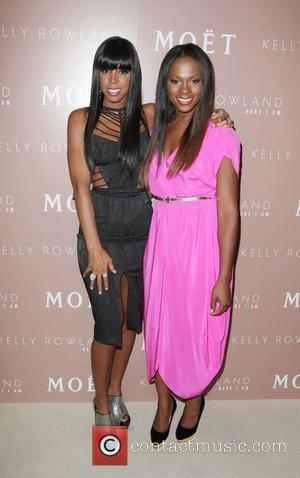 Kelly Rowland and Tika Sumpter