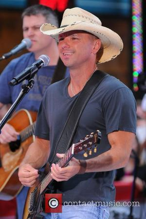 Kenny Chesney performing live at Rockefeller Center as part of the 'Today Show' concert series New York City, USA -...
