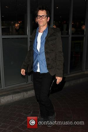 Kevin Bacon out and about London, England - 21.05.11