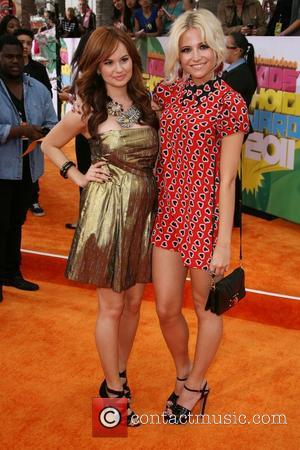 Debby Ryan and Pixie Lott Nickelodeon's 2011 Kids Choice Awards held at USC's Galen Center Los Angeles, California - 02.04.11