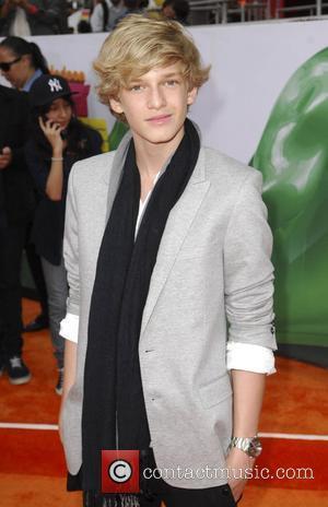 Cody Simpson Nickelodeon's 2011 Kids Choice Awards held at USC's Galen Center  Los Angeles, California - 02.04.11