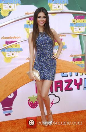 Victoria Justice Nickelodeon's 2011 Kids Choice Awards held at USC's Galen Center  Los Angeles, California - 02.04.11