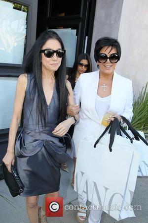 Kris Jenner and Vera Wang
