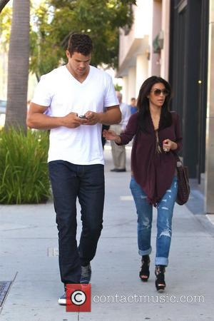 Kris Humphries and Kim Kardashian  walking together in Beverly Hills Los Angeles, California – 14.06.11