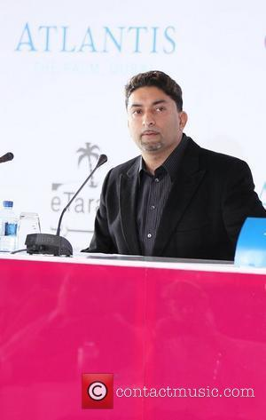 Sheeraz Hansen at the press conference for the launch of Millions Of Milkshakes Dubai held in the Atlantis Palms hotel...