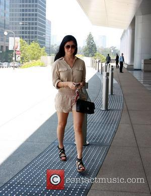Kim Lee arrives at the Creative Artists Agency to attend a meeting Los Angeles, California - 23.06.11