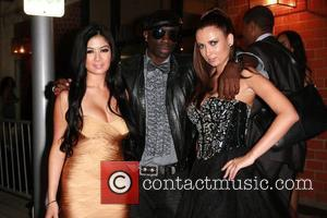 Kim Lee, Sam Sarpong, Guest Kim Lee and friends are spotted at the Creme of the Crop post BET dinner...